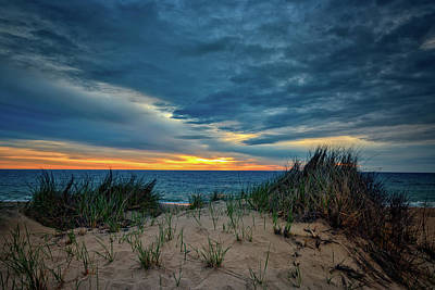 The Dunes On Cape Cod Print by Rick Berk