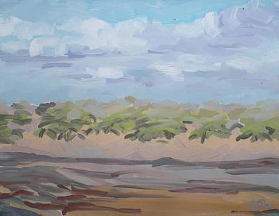 Painting - The Dunes on Golden Strand Doogurt Mayo Ireland by Catherine Considine