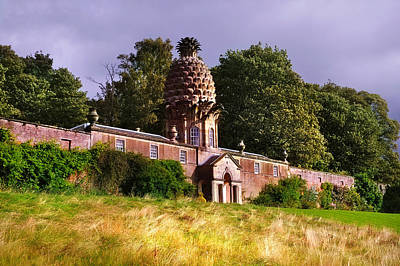 Photograph - The Dunmore Pineapple Building by Jenny Rainbow