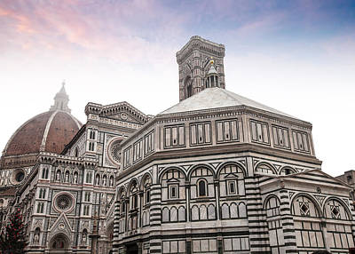Photograph - The Duomo In Florence by Al Hurley