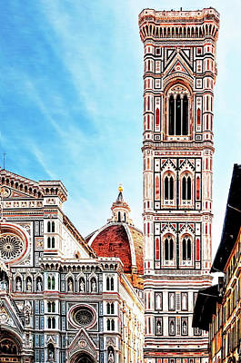 Photograph - The Duomo by Maria Coulson