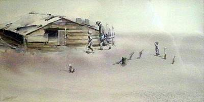 Painting - The Dustbowl by Ed Heaton