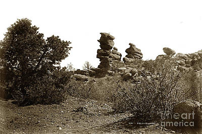 Photograph - The Dutchmangarden Of The Gods, Colorado by California Views Mr Pat Hathaway Archives