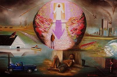 Painting - The Dwelling Place by Gene Gregory