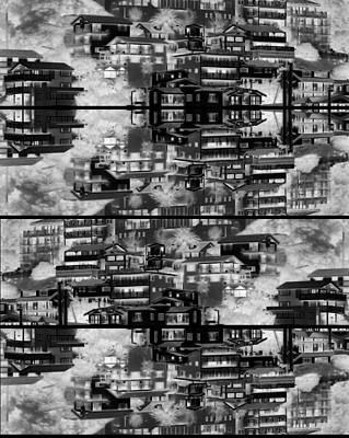 Photograph - The Dwellings by Daniel Schubarth