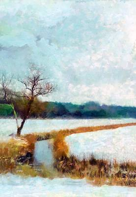 Painting - The Dyke by Valerie Anne Kelly