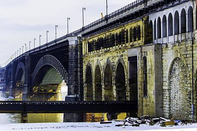 Photograph - The Eads Bridge by Kristy Creighton