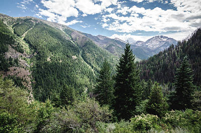Photograph - The Eagle Cap Wilderness by Margaret Pitcher