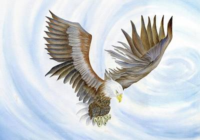 Wall Art - Painting - The Eagle by Hayley Buchanan