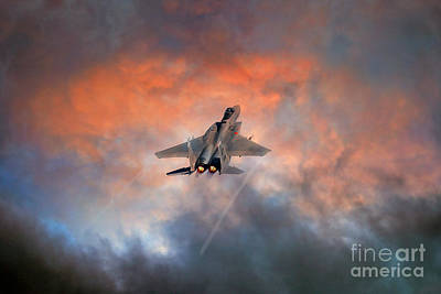 F15 Wall Art - Digital Art - The Eagle by J Biggadike