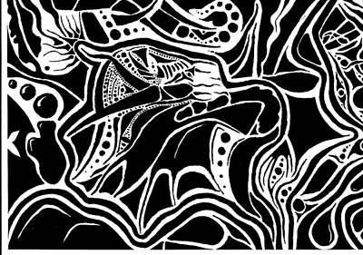 The Eagle Art Print by Joseph Churchill