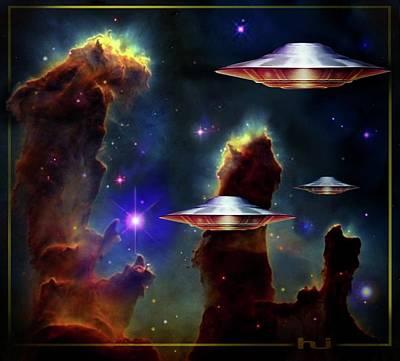 The  Eagle  Nebula  Art Print