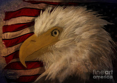 Painting - The Eagle Symbol Of Strength  by Melissa Messick
