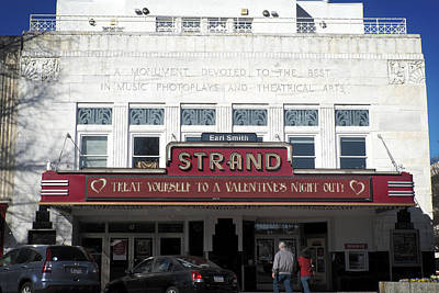 Photograph - The Earl Smith Strand Theater by George Taylor
