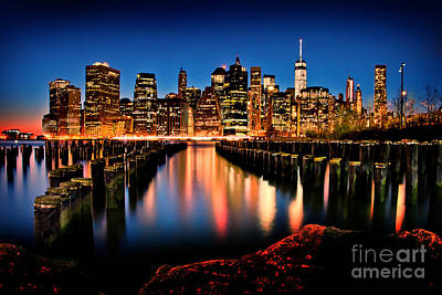 Nyc Photograph - The Earth Is Bleeding by Az Jackson