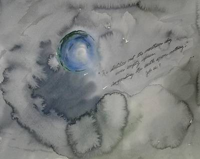 Painting - The Earth Is Suspended On Nothing by B L Qualls