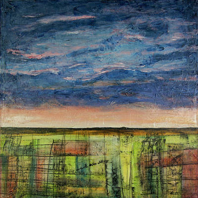 Mixed Media - The Earth Sings by John Hansen