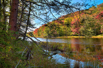 Photograph - The North End Of Bald Mountain Pond by David Patterson