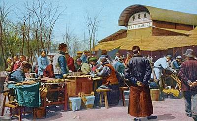 Photograph - The East Market, Peking, Ca 1921 by Vintage Printery