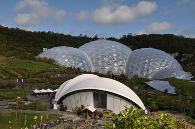 Photograph - The Eden Project by Gabriella Szekely