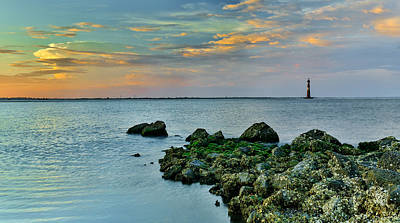 Photograph - The Edge - Morris Island Lighthouse Sc by Donnie Whitaker