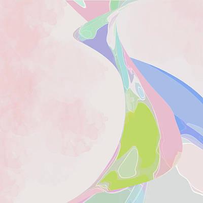 Digital Art - The Edge Of Her Kimono by Gina Harrison