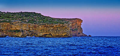Photograph - The Edge Of North Head In Sunset by Miroslava Jurcik