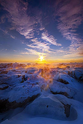 Photograph - The Edge Of Sanity by Phil Koch