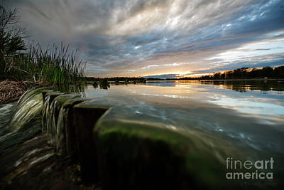 Photograph - The Edge Of Sky, Water And Land by David Arment