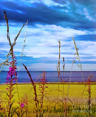 Photograph - The Edge Of The Sea by Judi Bagwell