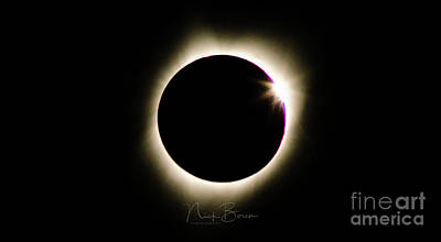 Photograph - The Edge Of Totality 2 by Nick Boren