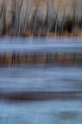 Photograph - The Edge Of Winter by Deborah Hughes