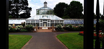 Photograph - The Edwardian Glasshouse, Dunedin by Nareeta Martin