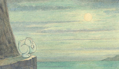 Effect Drawing - The Effect Of The Moon Is Extraordinary by Herbert Crowley