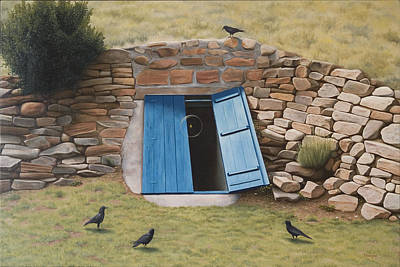 Metaphysical Realism Painting - The Effects Of Departure From Ideal Proportions by Paul Bond