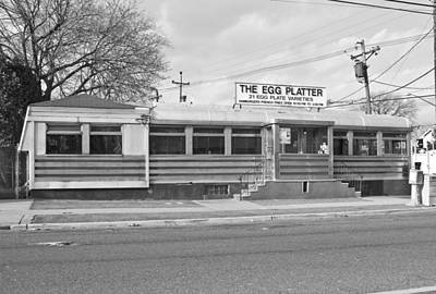 Photograph - The Egg Platter Diner by Anthony Sacco
