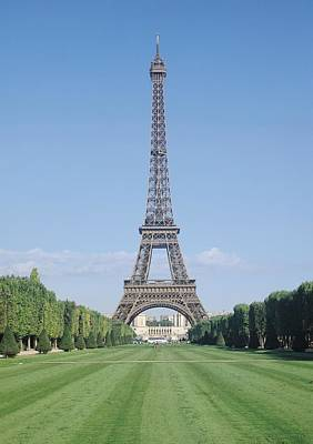 Tour Eiffel Photograph - The Eiffel Tower by French School