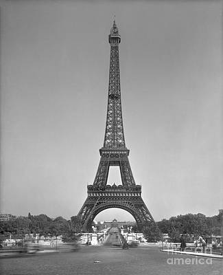 Landmarks Photograph - The Eiffel Tower by Gustave Eiffel