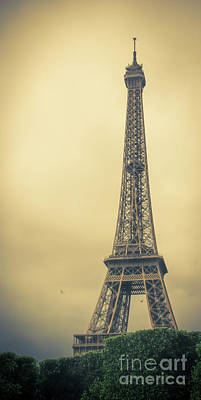 Photograph - The Eiffel Tower In The Morning Glow by Marina McLain