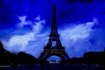 The Eiffel Tower Paris  Original by Enki Art