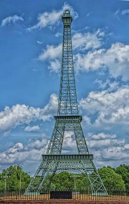 Photograph - The Eiffel Tower by Robert Hebert
