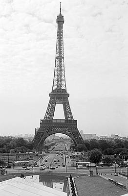 Photograph - The Eiffel Tower by Sharon Popek