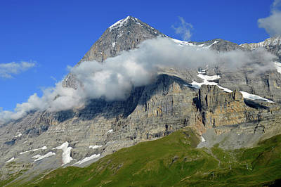 Jungfraujoch Photograph - The Eiger Nordwand by Tayte Campbell