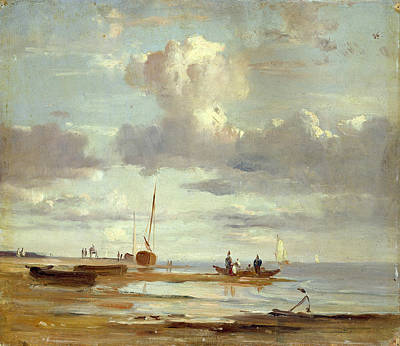 Painting - The Elbe At Blankenese by Adolph Friedrich Vollmer