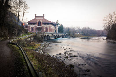 Photograph - The Electric Central Esterle, Porto D'adda, Italy by Alfio Finocchiaro