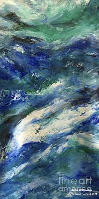 Painting - The Elements Water #4 by Laara WilliamSen