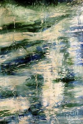 Painting - The Elements Water #5 by Laara WilliamSen