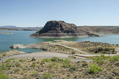 Photograph - The Elephant At Elephant Butte Lake  by Allen Sheffield
