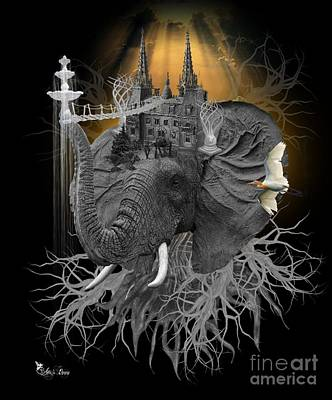 The Elephant Kingdom Art Print