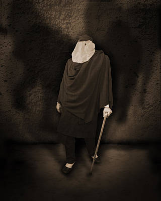 The Haunted Mansion Photograph - The Elephant Man by Liezel Rubin